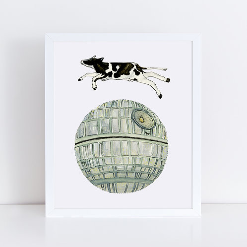Cow Jumping over Death Star