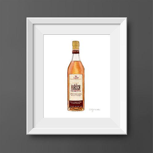 A.H. Hirsch Bourbon Bottle *ORIGINAL PAINTING*