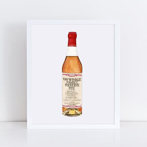 Van Winkle Family Reserve Rye Bottle