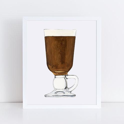 Irish Coffee *ORIGINAL PAINTING*