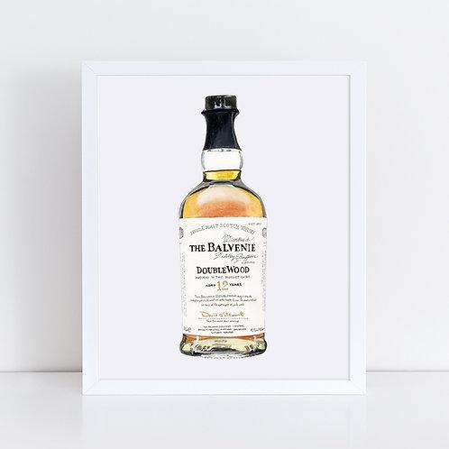 The Balvenie 12 Year Scotch Whisky Bottle