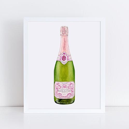 André Clouet Rosé Champagne Bottle