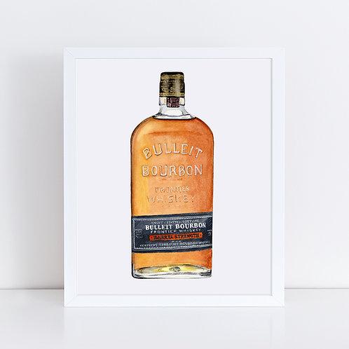 Bulleit Bourbon Barrel Strength Bottle