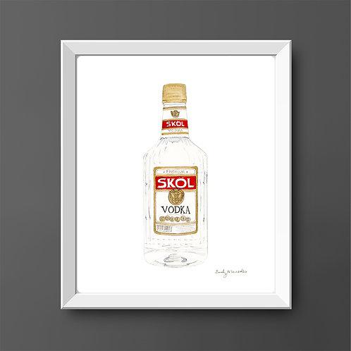 Skol Vodka *ORIGINAL PAINTING*