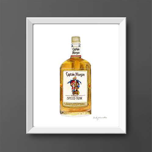 Captain Morgan *ORIGINAL PAINTING*