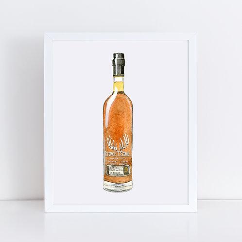 George T. Stagg Bourbon Bottle