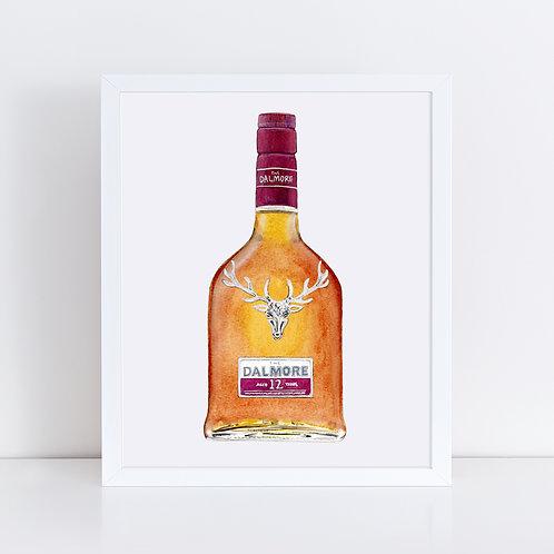 Dalmore 12 Year Scotch Whisky Bottle