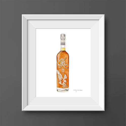 Eagle Rare Bourbon Bottle *ORIGINAL PAINTING*