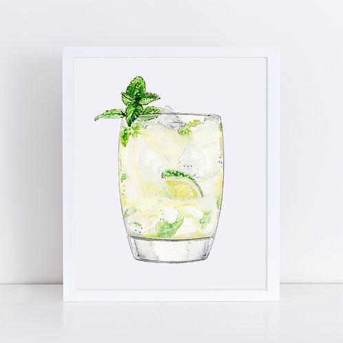 Mint Mojito Cocktail
