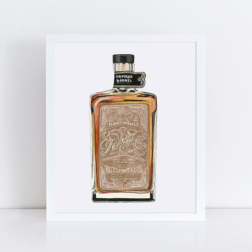 Rhetoric 22 Whiskey Bottle