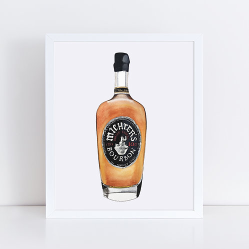 Michter's Bourbon 10 Year Bottle