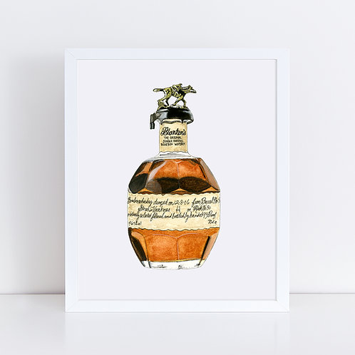 Blanton's Bourbon Bottle
