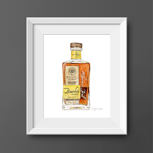 Wilderness Trail Bourbon Bottle *ORIGINAL PAINTING*