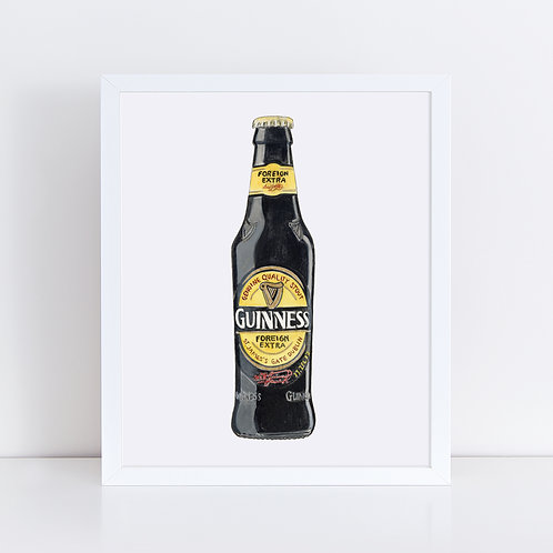 Guinness Genuine Quality Stout Bottle