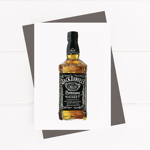 Jack Daniel's - Greeting Card