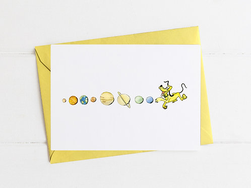 Pluto is a Planet - Greeting Card