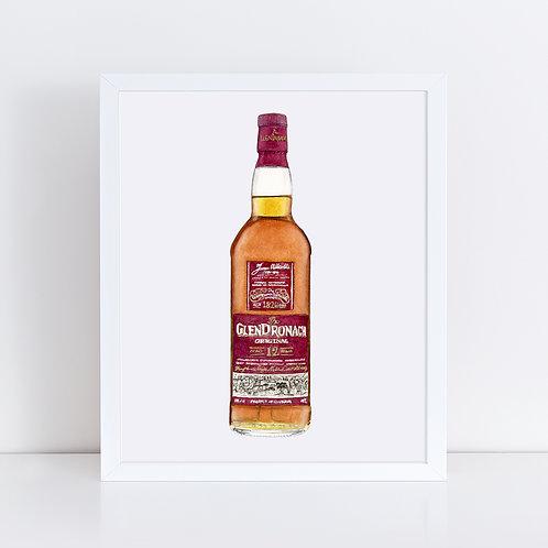 The Glendronach 12 Scotch Whisky Bottle