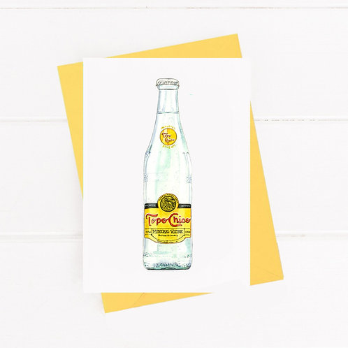 Topo Chico - Greeting Card