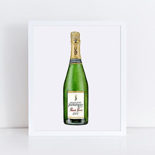 Jacquinot & Fils Champagne Bottle
