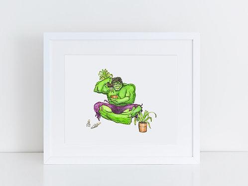 Hulk is a Green Thumb
