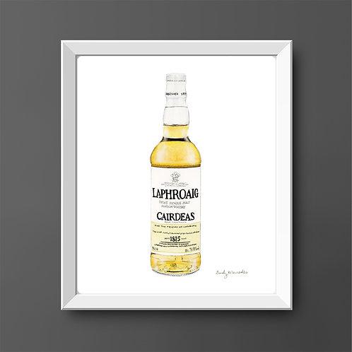 Laphroaig Scotch Whisky Bottle *ORIGINAL PAINTING*