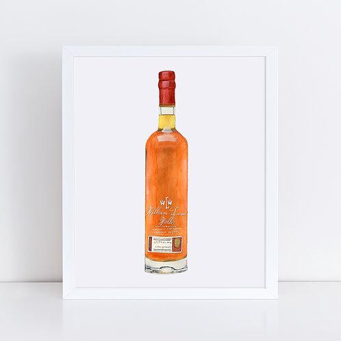 William Larue Weller Bourbon Bottle