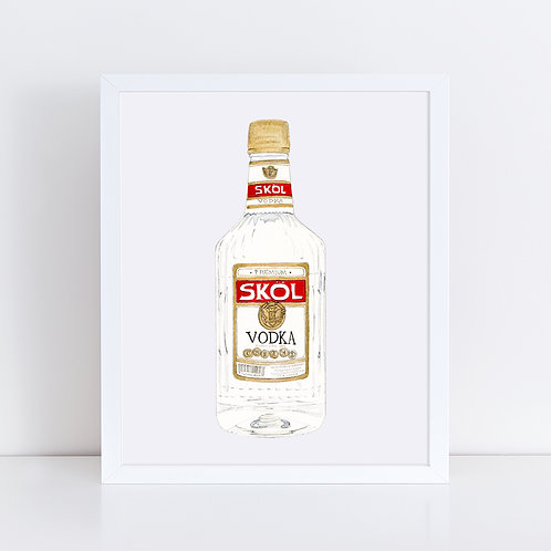 Skol Vodka *ORIGINAL PAINTING*