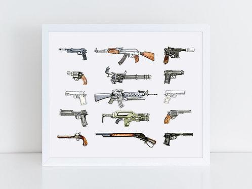 Iconic Guns