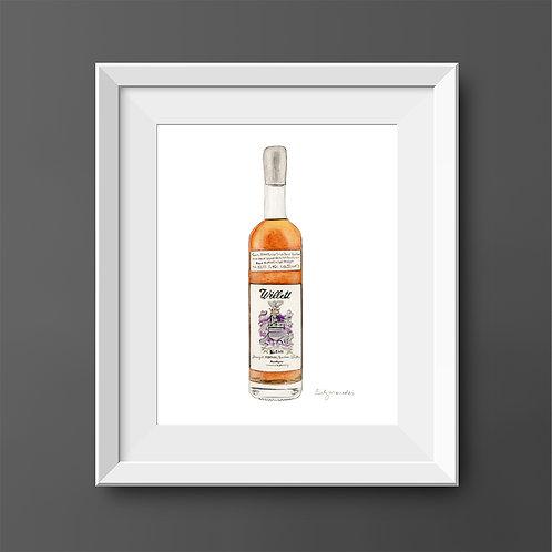 Willett Straight Kentucky Bourbon Bottle *ORIGINAL PAINTING*