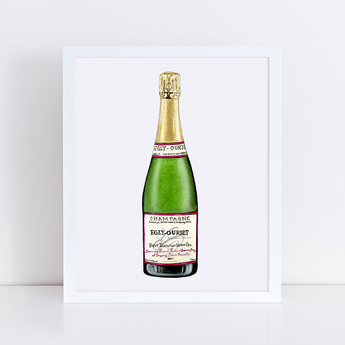 Egly-Ouriet Champagne Bottle