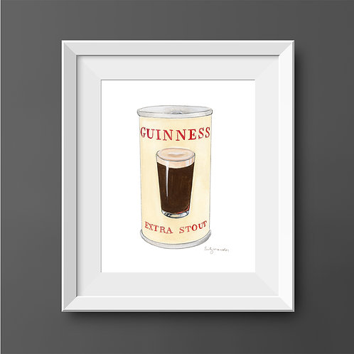 Guinness Extra Stout Can *Original Painting*