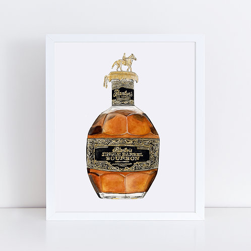 Blanton's Single Barrel - Round Two - Bourbon Bottle
