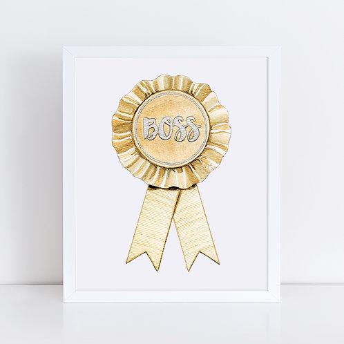 Boss Gold Ribbon