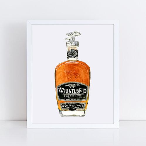 Whistle Pig Whiskey Bottle