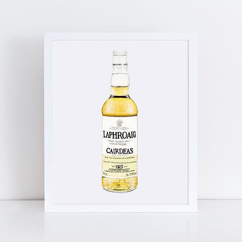 Laphroaig Scotch Whisky Bottle