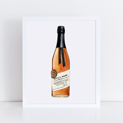 Little Book Bourbon Bottle