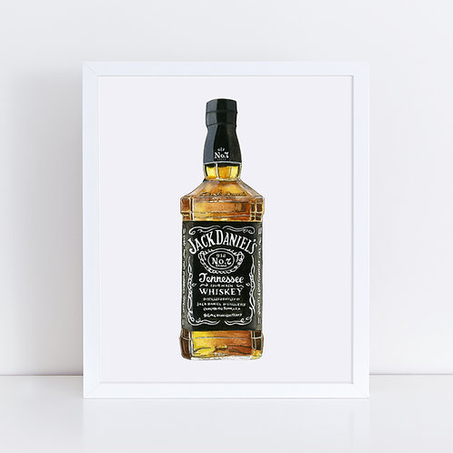 Jack Daniel's Whiskey Bottle