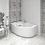 """Thumbnail: Акриловая ванна """"РАДОМИР"""" - Ирма 149x96  R(правое исполнение)"""