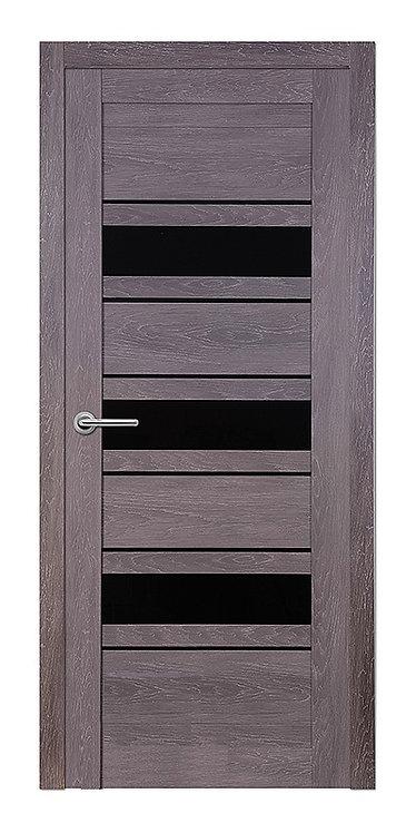 Межкомнатная дверь Corsa S-27 (Дуб графит,кедр светлый, дуб седой)