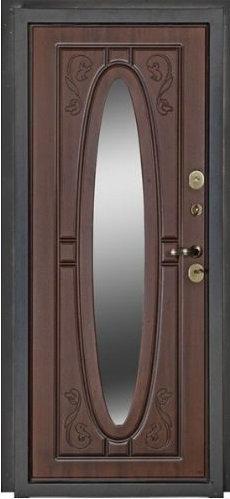 Входная дверь Фаберже (Дуб тёмный)