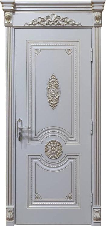 Межкомнатная дверь Олимп (RAL 9010)