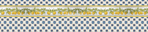 Декоративное панно Лимончики