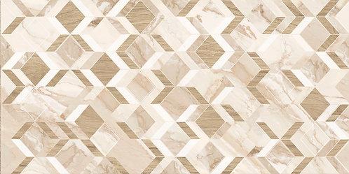 Kerlife Плитка 31.5x63 CALACATTA GOLD ROMBI (1,59 м2)