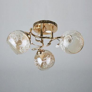 Люстра 6858/3А золото