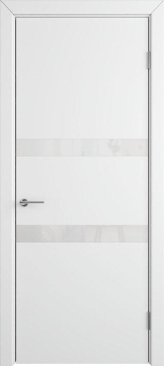 Межкомнатная дверь Ньюта (Polar) White gloss