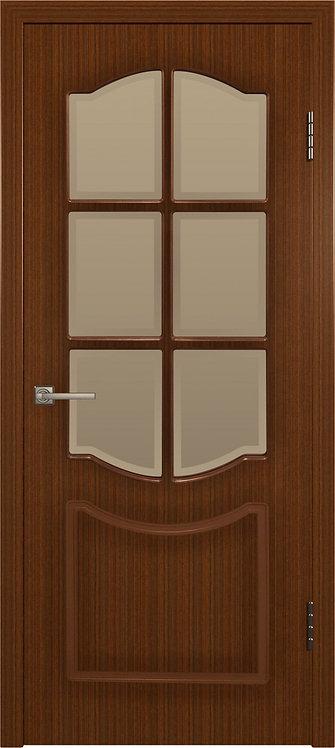 Межкомнатная дверь Классика шпон (Макоре)
