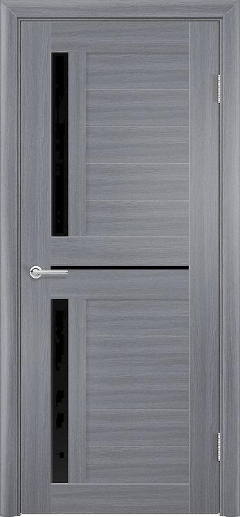 Межкомнатная дверь Corsa S-29 (Дуб графит,кедр светлый, дуб седой)