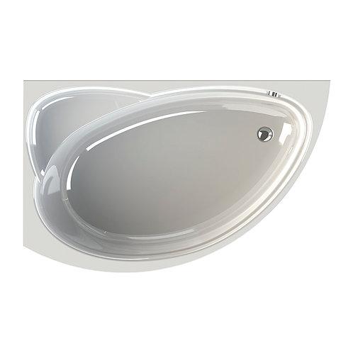 """Акриловая ванна """"РАДОМИР"""" - Модерна 160х100  R(правое исполнение)"""