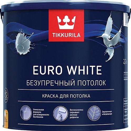 Краска Тиккурила EURO WHITE