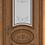 Thumbnail: Межкомнатная дверь Амалия (Остеклённое полотно)  (Ivory PC, Bianco PG, Honey PB)
